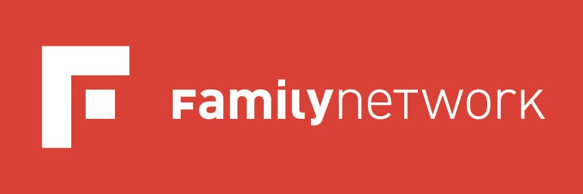 Erscheinungsbild Familynetwork: Logo Design, Layout Visitenkarten, Kuvert C5 und Geschäftspapier, Faltprospekte und Jahresbericht  by Lockedesign, Burgdorf