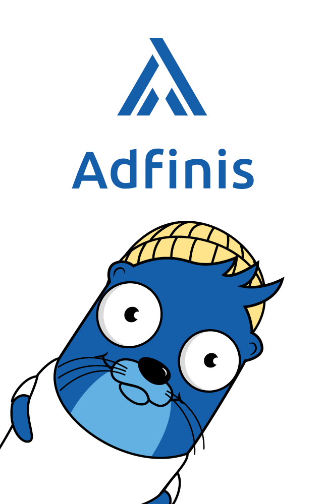 Branding Adfinis AG: Logogestaltung, Grafik/Layout Visitenkarten, Kuvert C5 und Geschäftspapier A4. Maskottchen by Lockedesign, Burgdorf