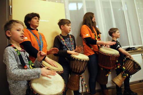 Probeauftritt am 27.02.2015 bei der Tagung der Jugendfeuerwehr in Kirchworbis