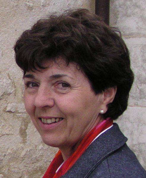 Marie-Josèphe, mère de consacré, Coordinatrice du Panier, à GARCHES