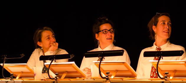 Christine Lhôte, Juliette Héringer, Claire Gaudin