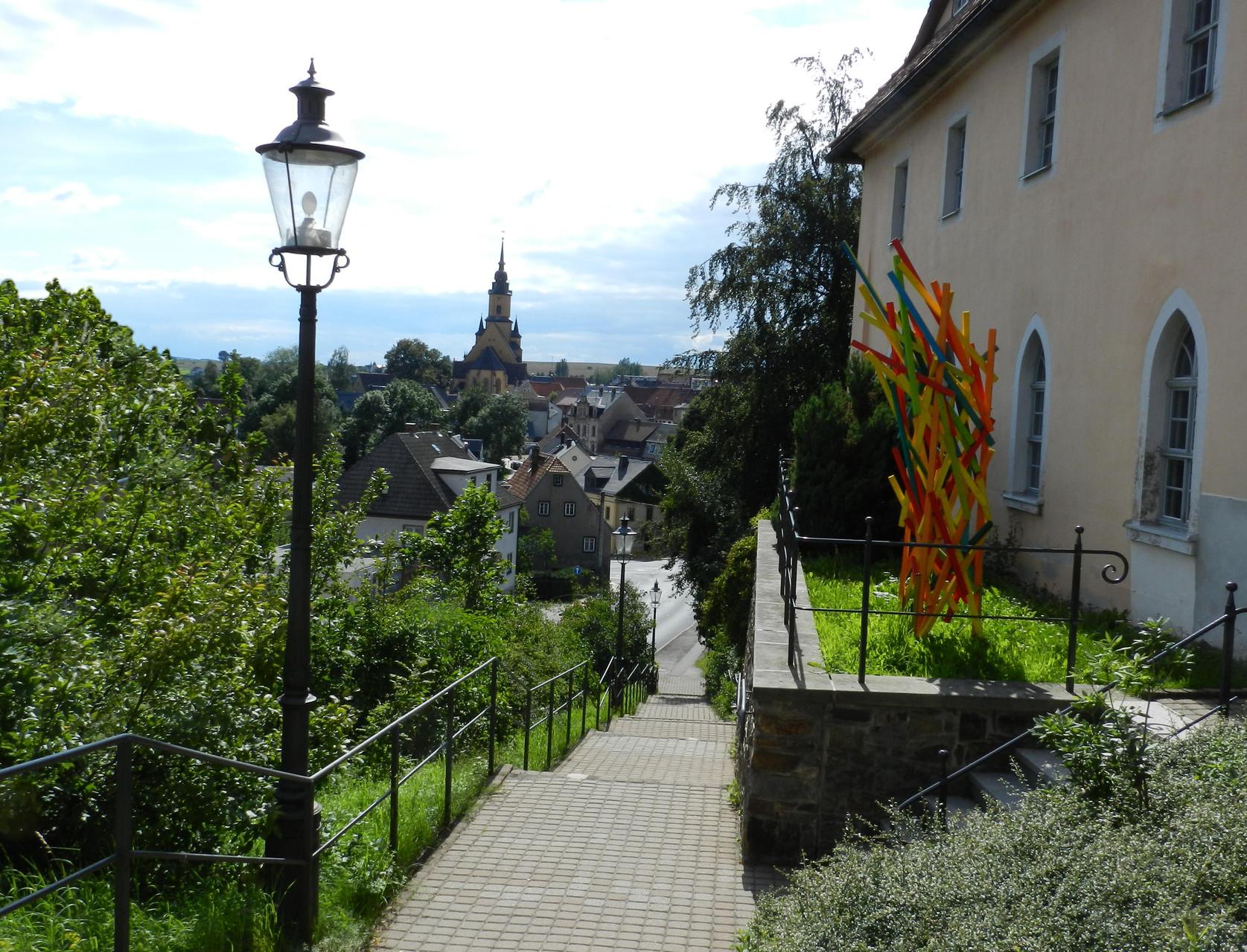 Vom Spital zur Altstadt- Oederan-