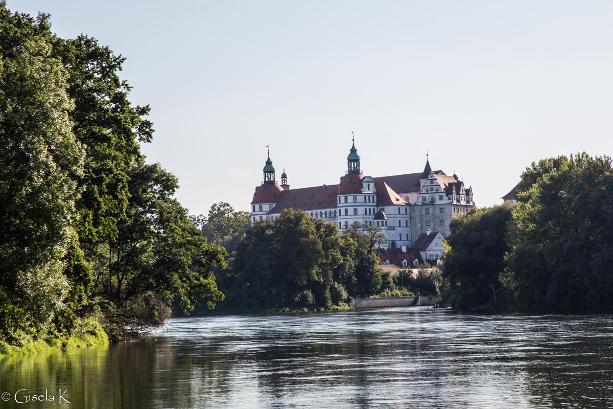 Das Schloss in Neuburg