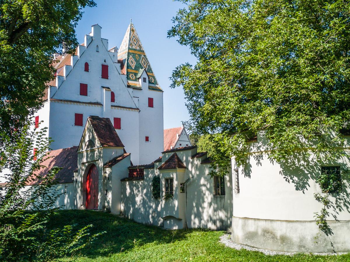 Das Schloss von der Rückseite