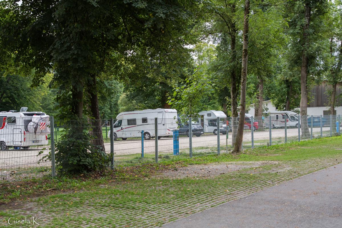 Günzburg Stellplatz am Waldbad