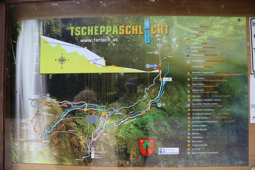Tscheppa-Schlucht
