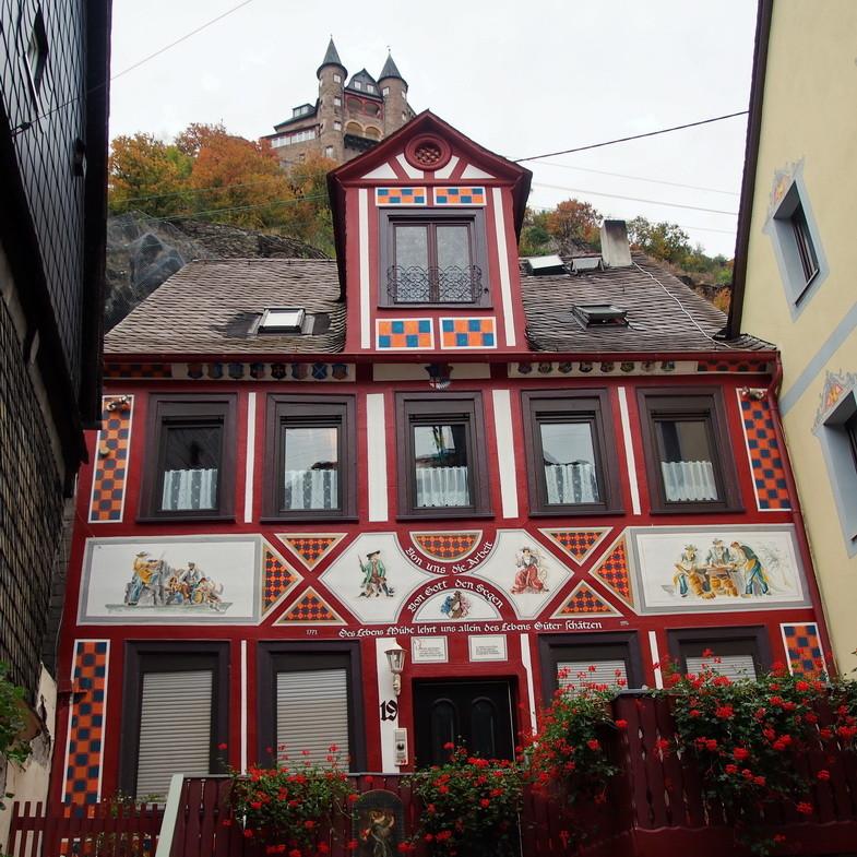 St. Goarhausen  -  Burg Katz