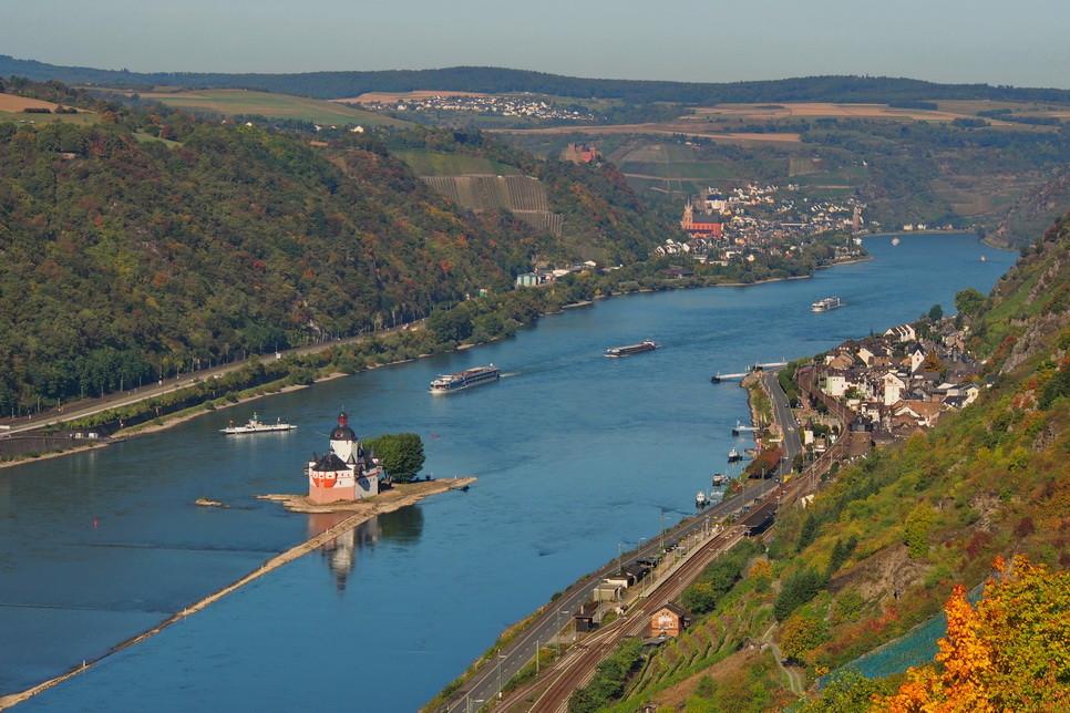 Oberwesel    -    Kaub