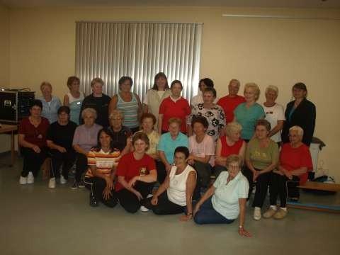 Gruppenbild der Fit ab 50 - und Gymnastikgruppe des SV Breitenbach