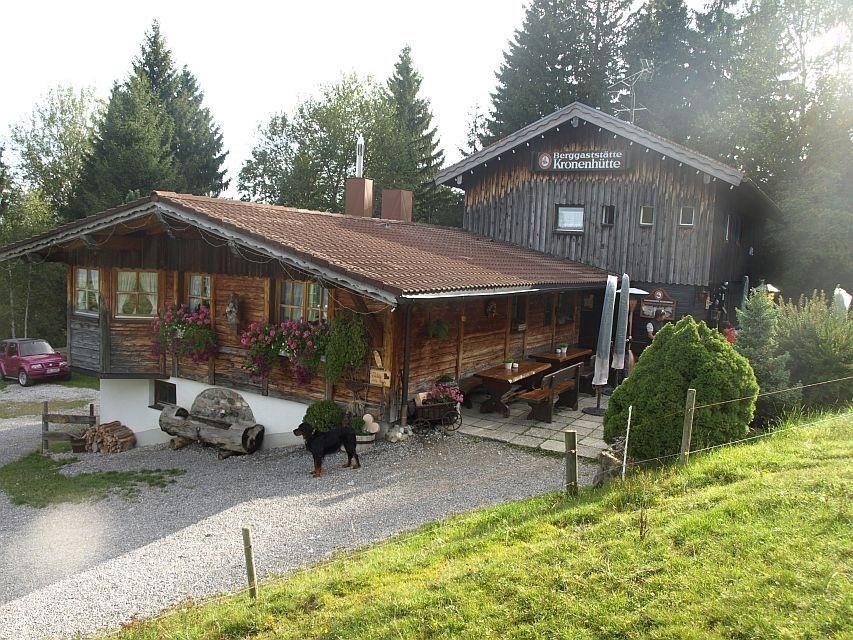 Kronenhütte in Nesselwang im Allgäu