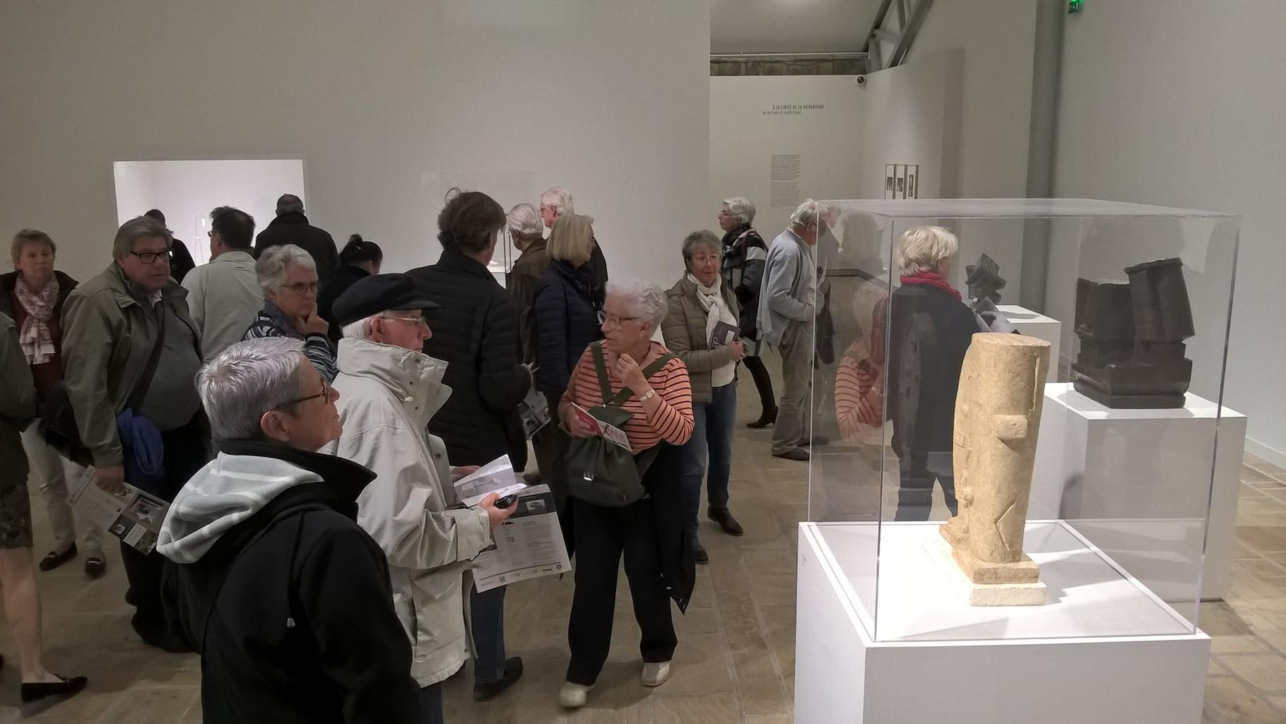 Visite exposition Giacometti, le 13/10/2015