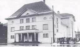 Das Theater nach dem Anbau 1931-1932