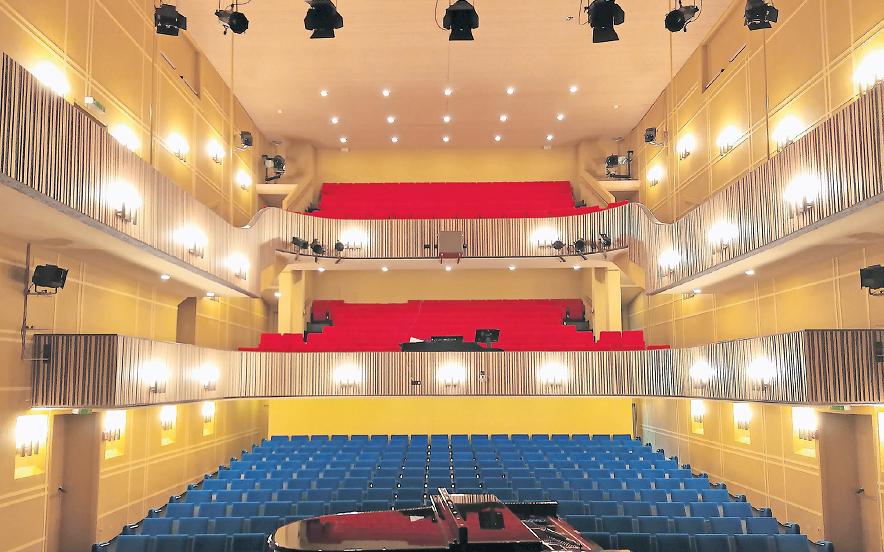Theatersaal während Corona-Krise saniert