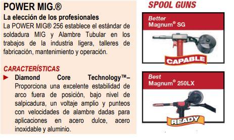 Power Mig 256