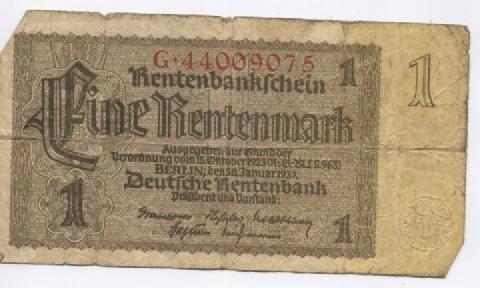 billet allemand
