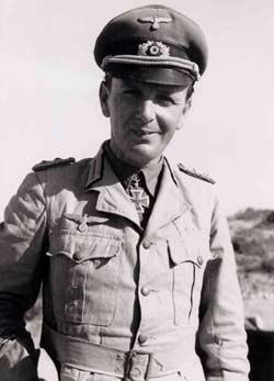 Le Général Siegfried Westphal 18 mars 1902 - 2 juillet 1982 capturé par les troupes américaines en mai 1945.il sera libéré en 1947.