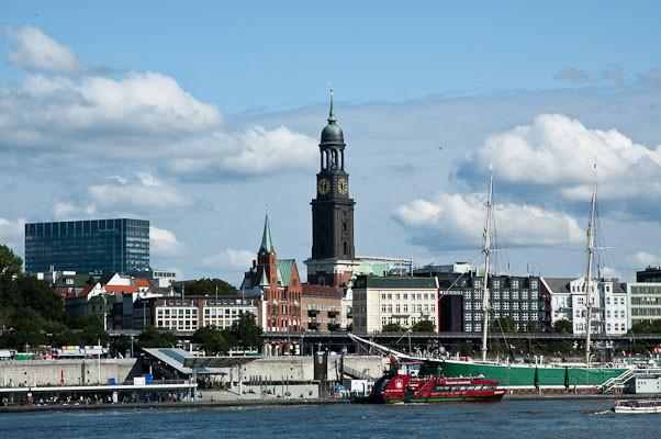 Hamburg mit Michel