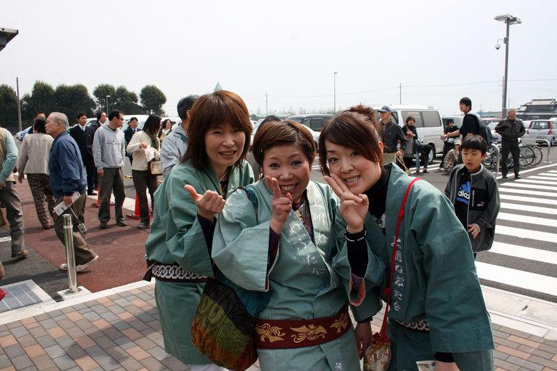上州ねぷた会の姫君たち