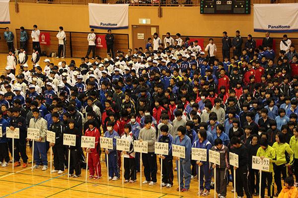 各県から選抜された選手