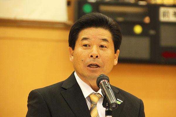 来賓挨拶 青木克夫(株)パナホーム北関東 代表取締役社長