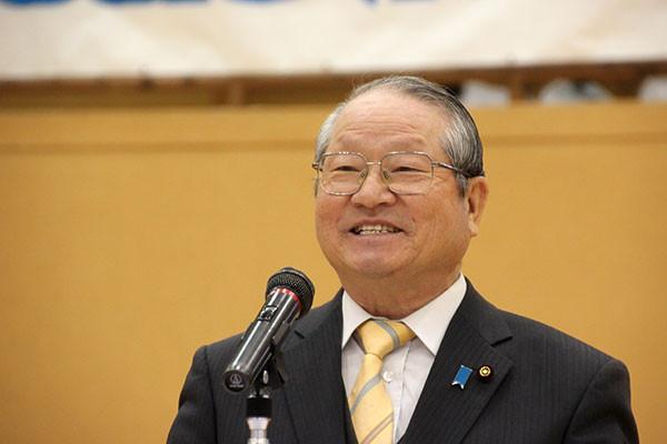 来賓挨拶 永田洋治 太田市議会議長