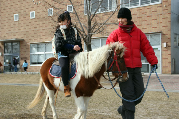 NPO法人す馬いる 乗馬体験