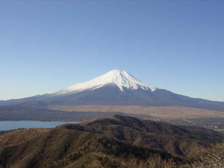 富士山(瑞牆山より)