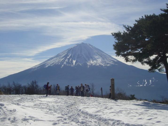 富士山(足和田山より)