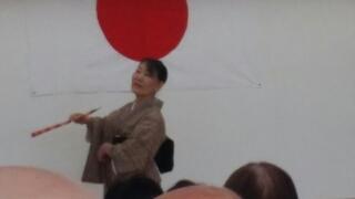 日本舞踊は会員のSさん