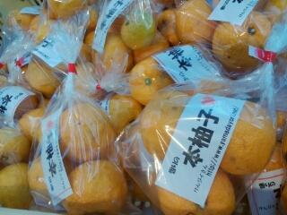 柚子の出荷