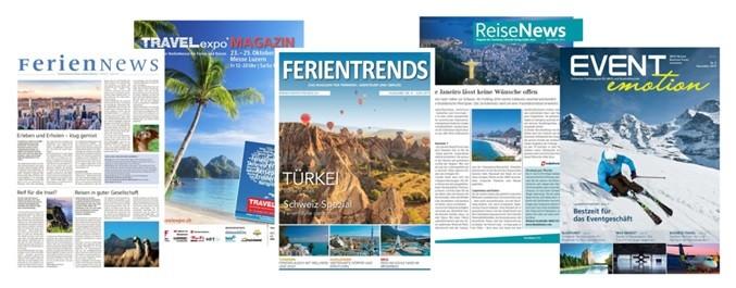 Publikationen des Tourismus Lifestyle Verlag