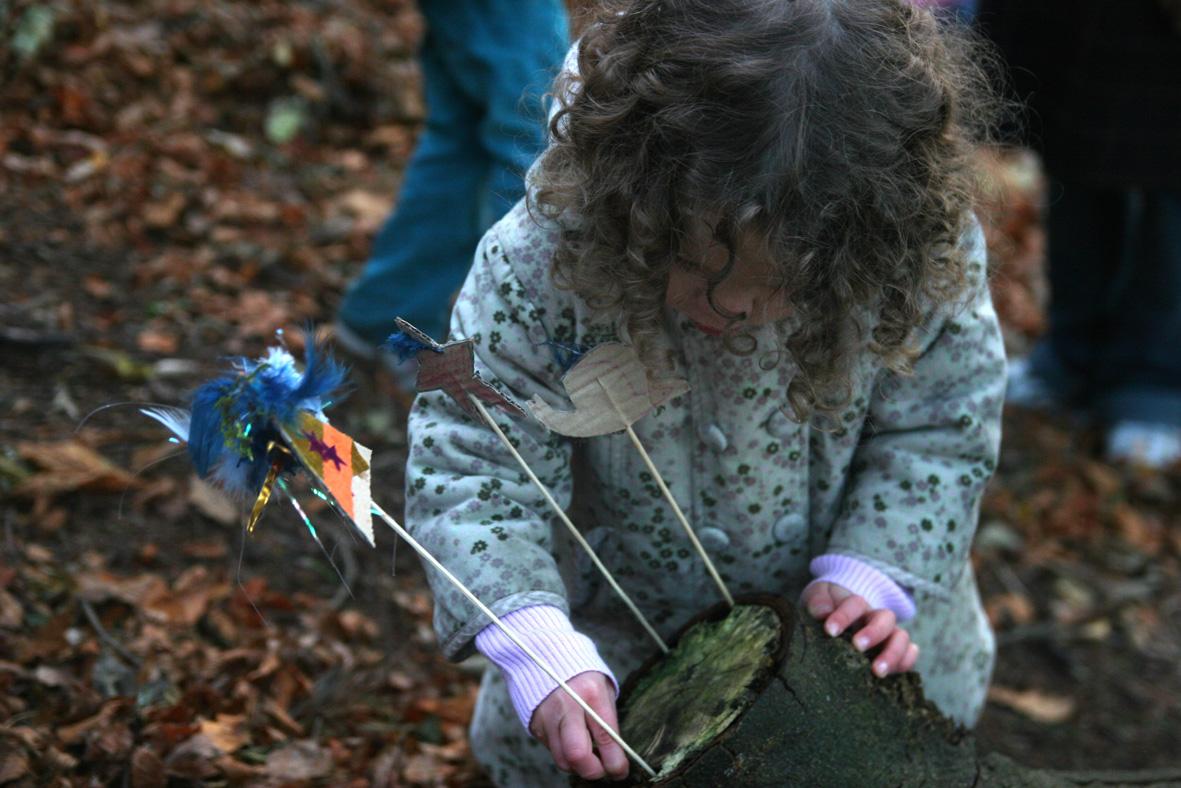 Kunst & Natur Workshop für 2-4 Jährige samt Erwachsenen
