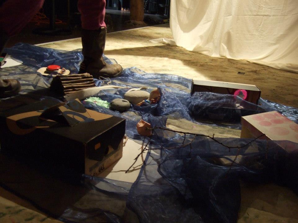Riesen und Zwerge- eine Sommer-Theater-Werkstatt im Club Voltaire