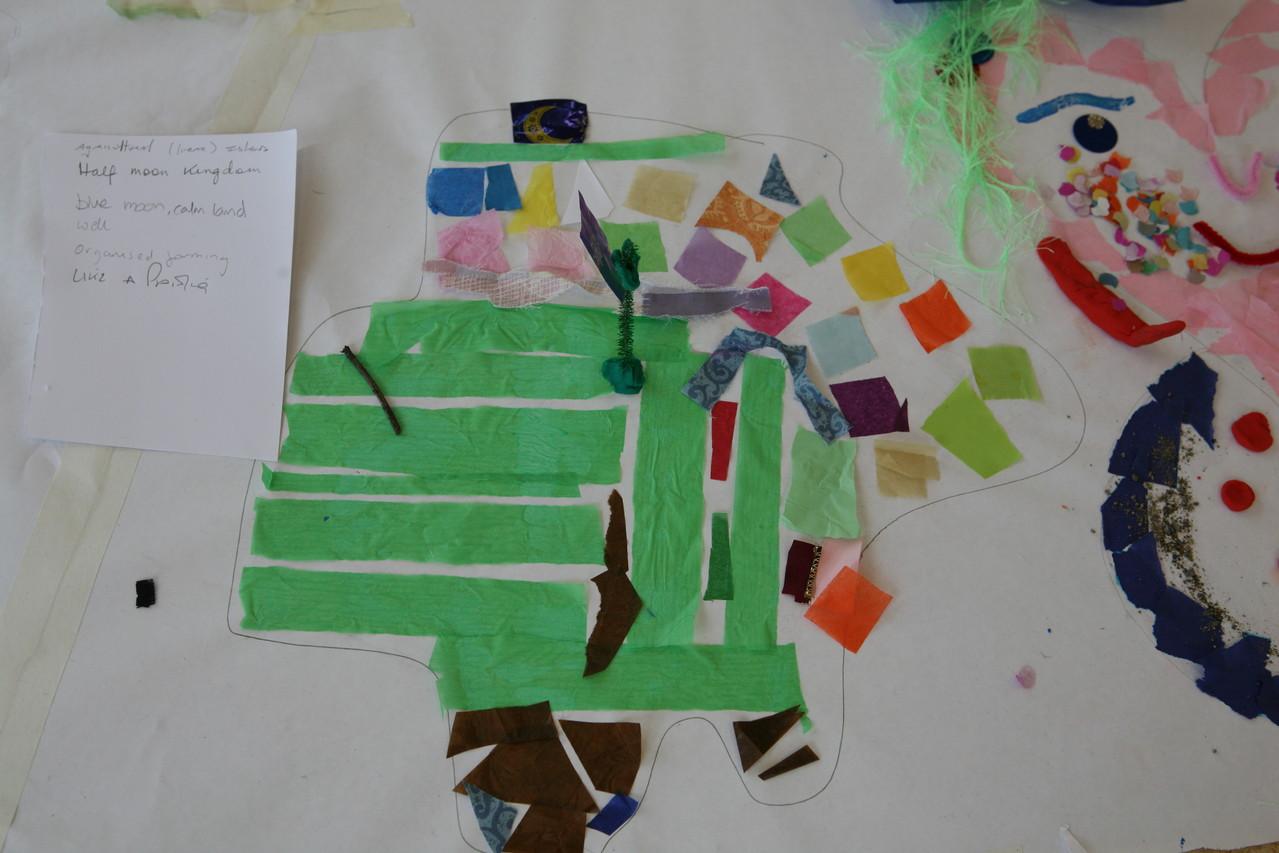 Creative Connections, Workshop für Erzieherinnen und Künstlerinnen im Rahmen eines Symposiums zu Kreativität in früher Kindheit (organisiert von www.helium.ie)