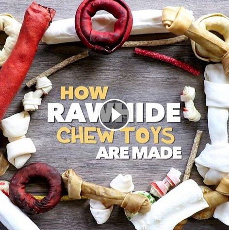 Comment sont fabriqué les friandises à macher pour nos chiens