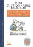 Mini dictionnaire bilingue français-chien et chien-français pas Jean Cuvelier et Christophe Bess