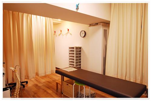 馬場整体院の施術室の写真