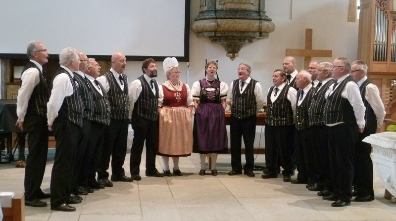 Muttertag 2017 in reformierter Kirche Hinwil