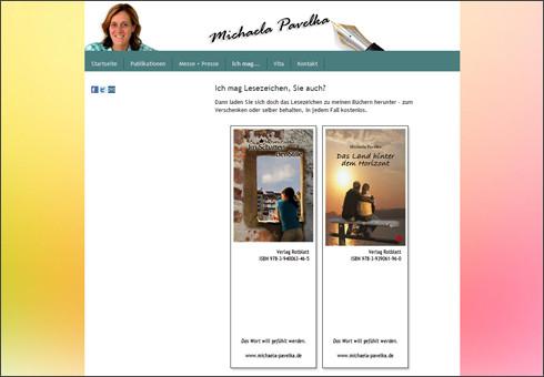 www.michaela-pavelka.de - Schriftstellerin