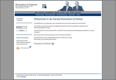 www.rickenbachundpartner.de - Steuerberatungs- und Treuhandgesellschaft