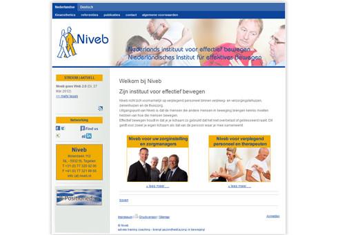 www.niveb.nl - Niederländisches Institut für effektives Bewegen