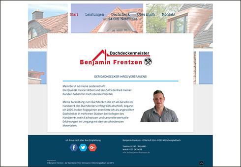 www.benjamin-frentzen.de - Dachdeckermeister