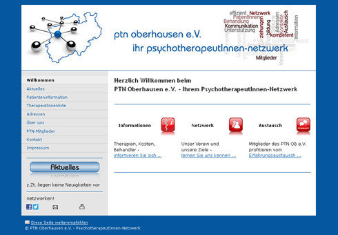 www.ptn-oberhausen.de - PsychotherapeutInnen-Netzwerk