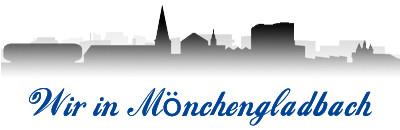 Wir in Mönchengladbach - Silhouette Stadt Mönchengladbach