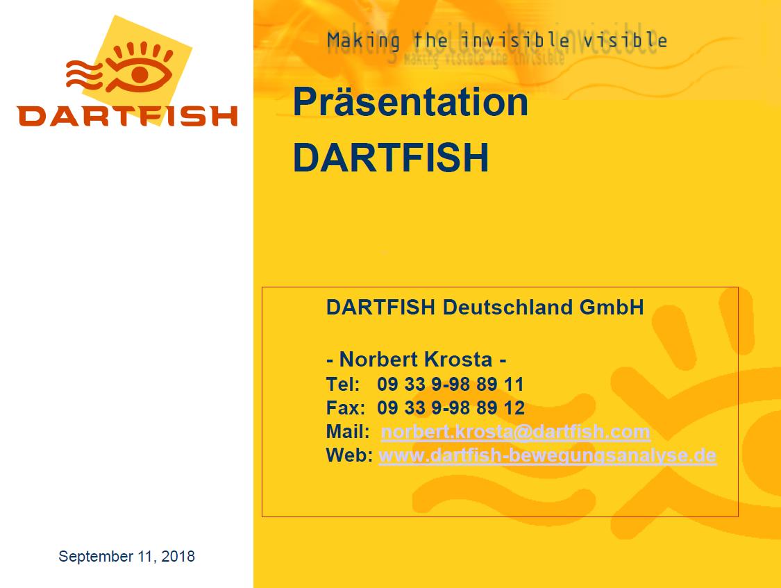 1.Dartfish Präsentation - Kontaktdaten Norbert Krosta