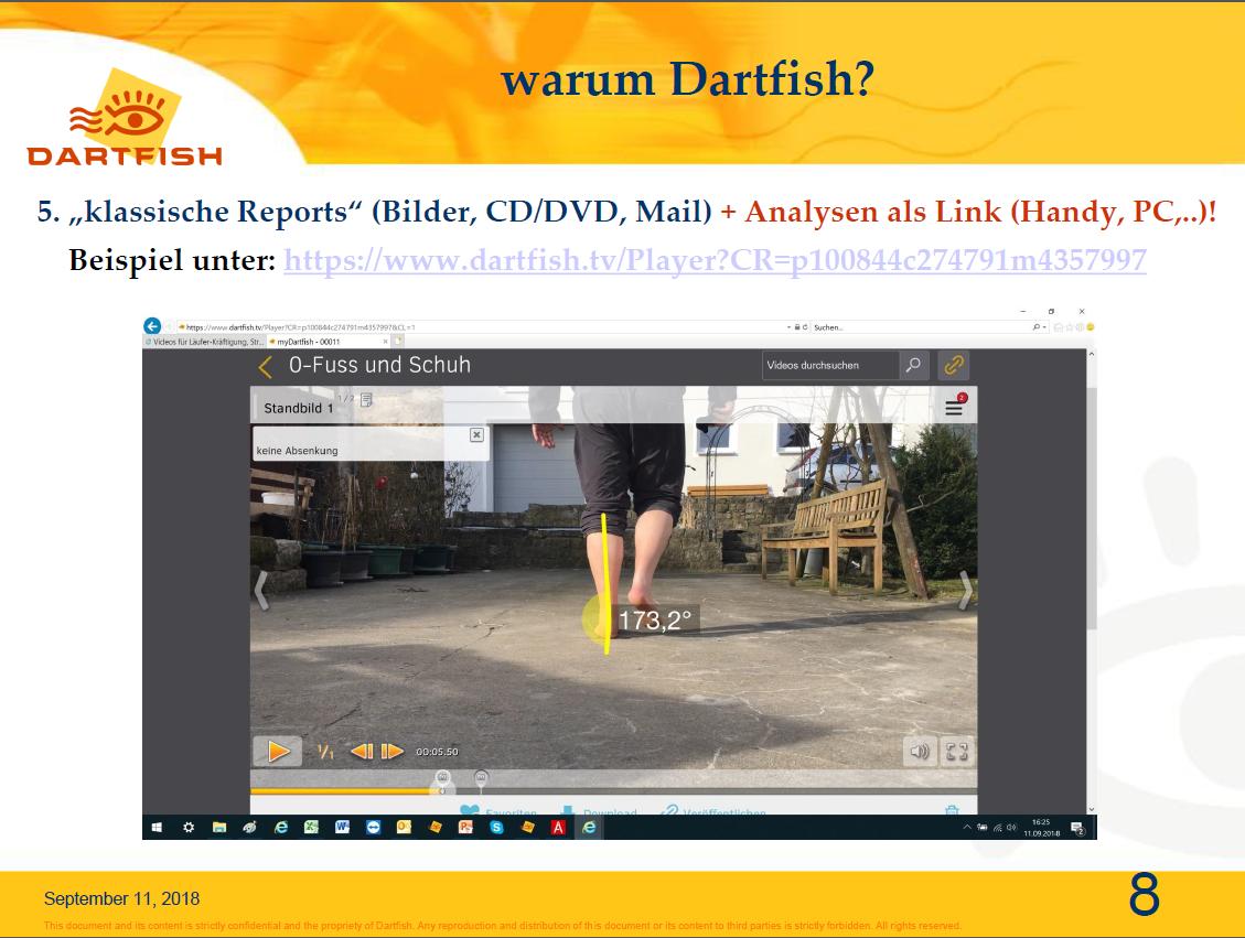 8.klassiche Dokumentation und Weitergabe als Link auf Handy, PC ...