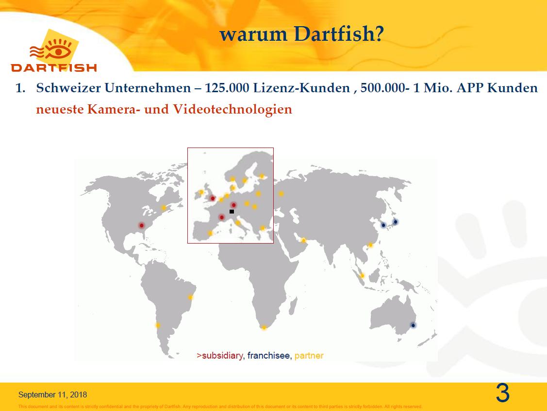 3.Schweizer Unternehmen, Anzahl Lizenzkunden