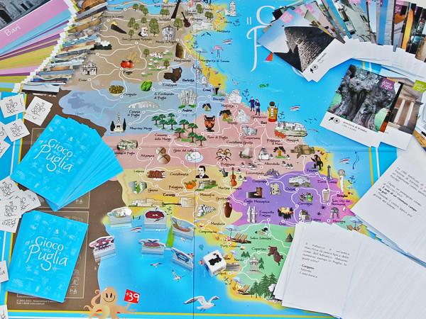 Il gioco della Puglia: per giocare, imparare, pugliesizzare.