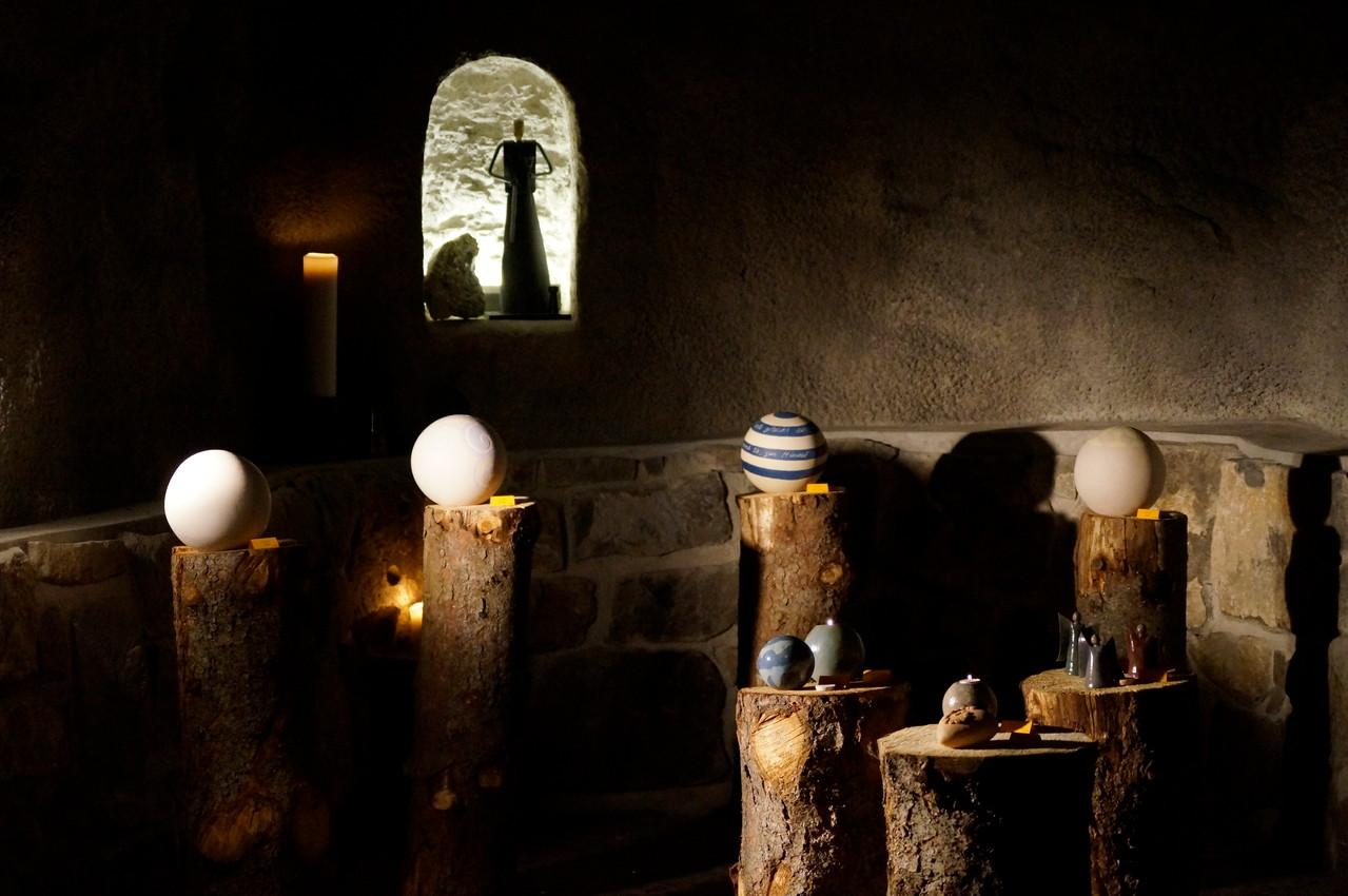 Barbara-Grotte, Quellenlicht