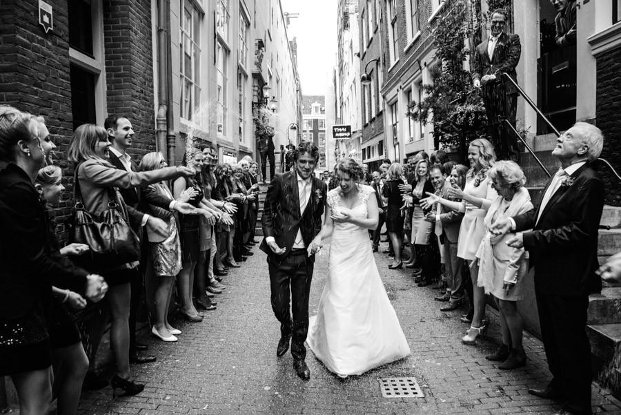 rijst, gooien, bruiloft, amsterdam, fotograaf
